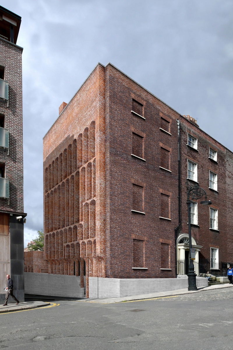 Brick House Addition In Dublin: No.16 Henrietta Street. Dublin
